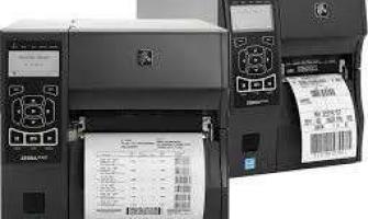 Locação de impressoras de etiquetas